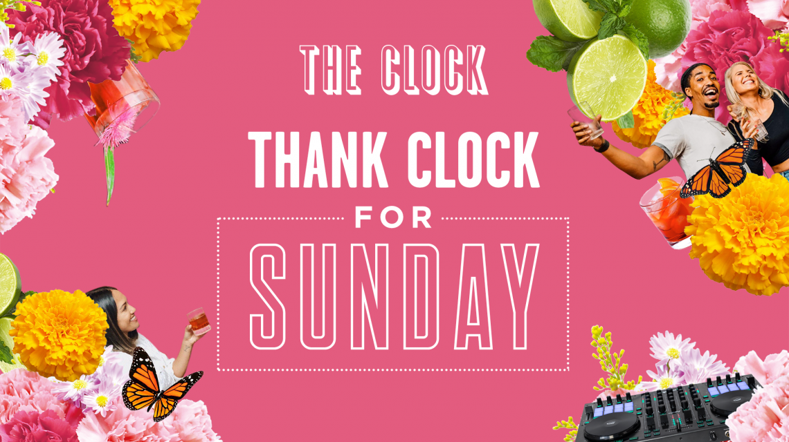 Thank Clock For Sunday promo banner
